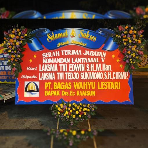 Toko Jual Karangan Bunga Papan Selamat Sukses Kirim Dari Surabaya